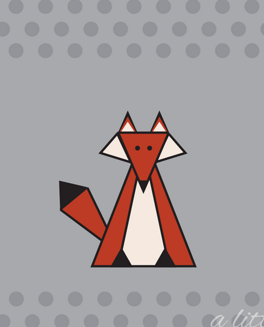 Free Fox iPhone Wallpaper: September Edition