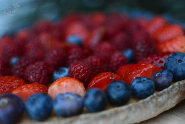 Postre fácil tartaleta de frutos rojos 03