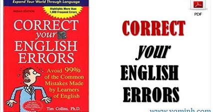 Your english pdf correct errors