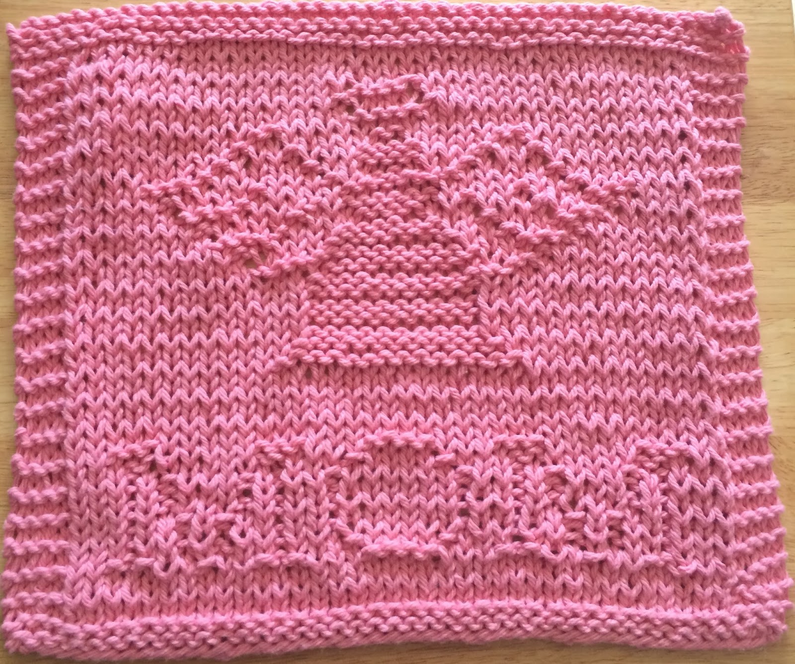 Breast Cancer Knitting Patterns : 1000+ images about Knit Cure for Cancer on Pinterest Knit Dishcloth Pattern...