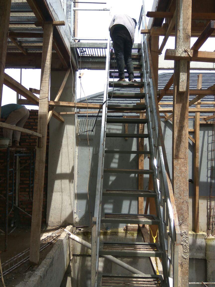 Railing Tangga Balkon Model Minimalis Jasa Pembuatan Dan