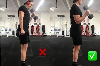 الآداء الصحيح لتمرين (الهامر-المطرقة) لعضلة البايسيبس