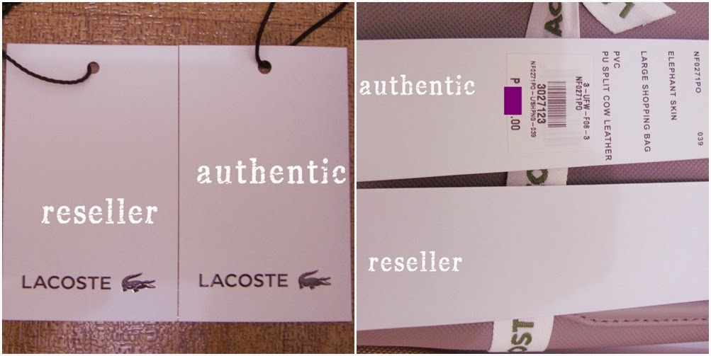 Lacoste Concept Shopping Bag Review   An Attempt to Spot the Fake - diane  wants to write 85bfd18f5
