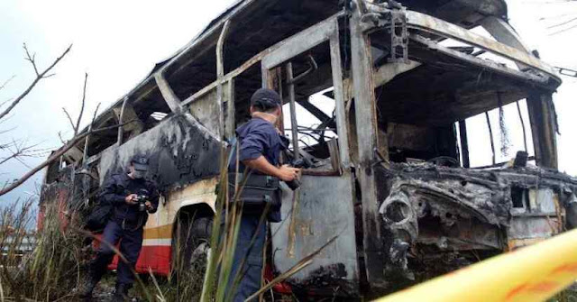 20 Factory Workers Killed Burned in Bus