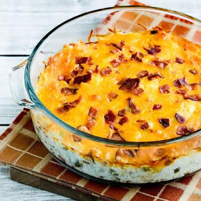 Keto Twice Baked Cauliflower / Keto Diet Menu - Best Keto Recipes