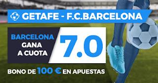 Megacuota Paston Liga Getafe - Barcelona + 100€ 16-9