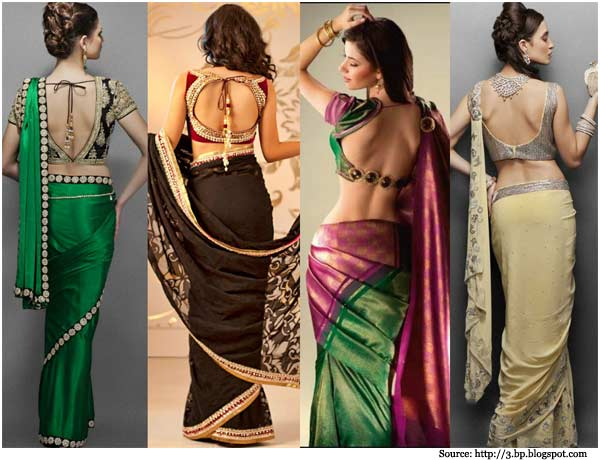 9cef82d582bfa Glam up yourself with these designer blouses and look most stylish in  party. So whatever the design of your saree these designer blouse will  definitely will ...