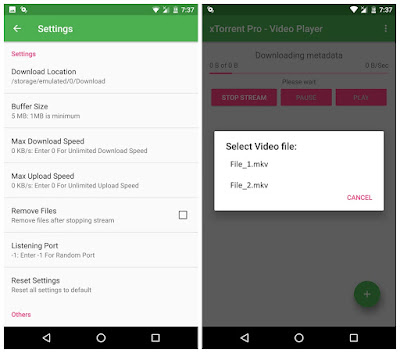 xtorrent pro video player apk free download
