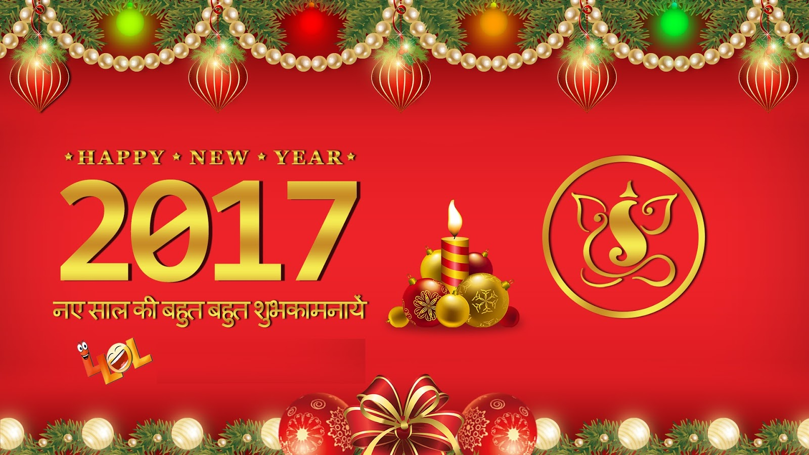 Happy New Year 2017 Images for WhatsApp Group, Facebook Post, Twitter Page