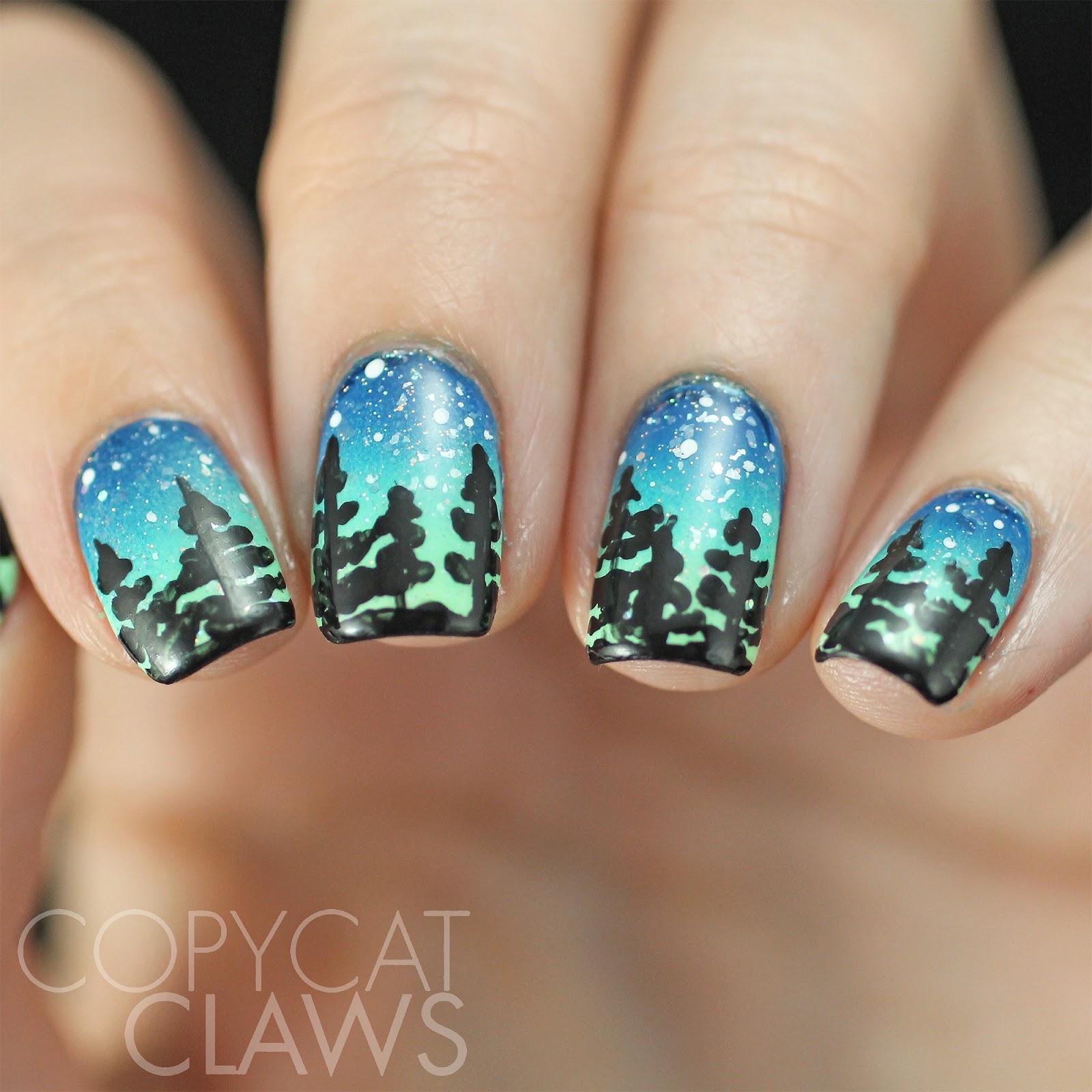 Copycat Claws: HPB Presents Northern Lights Gradient