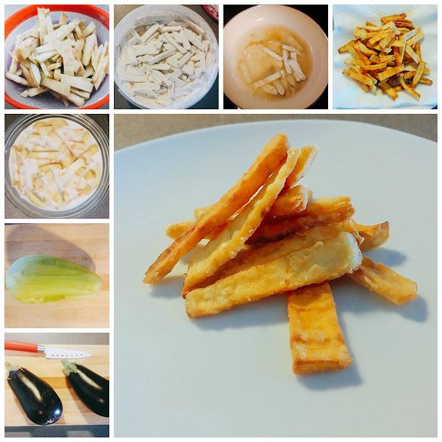 recetas berenjenas fritas