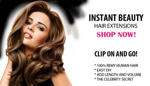 easily flip your hair with the latest and best selling  instant hair extensions on the market