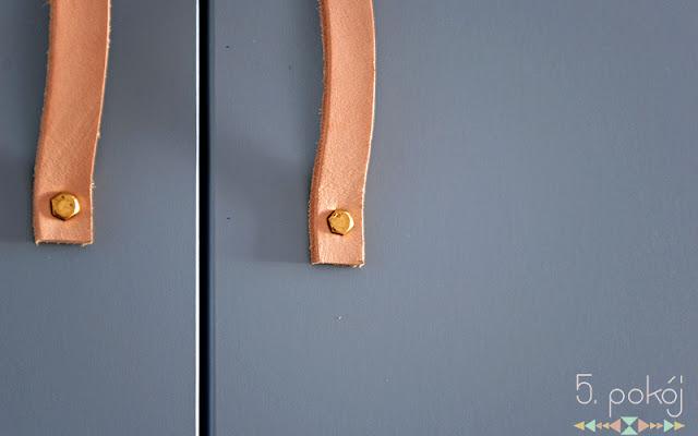 Tutorial DIY: Skórzane uchwyty do szafek - CZYTAJ DALEJ