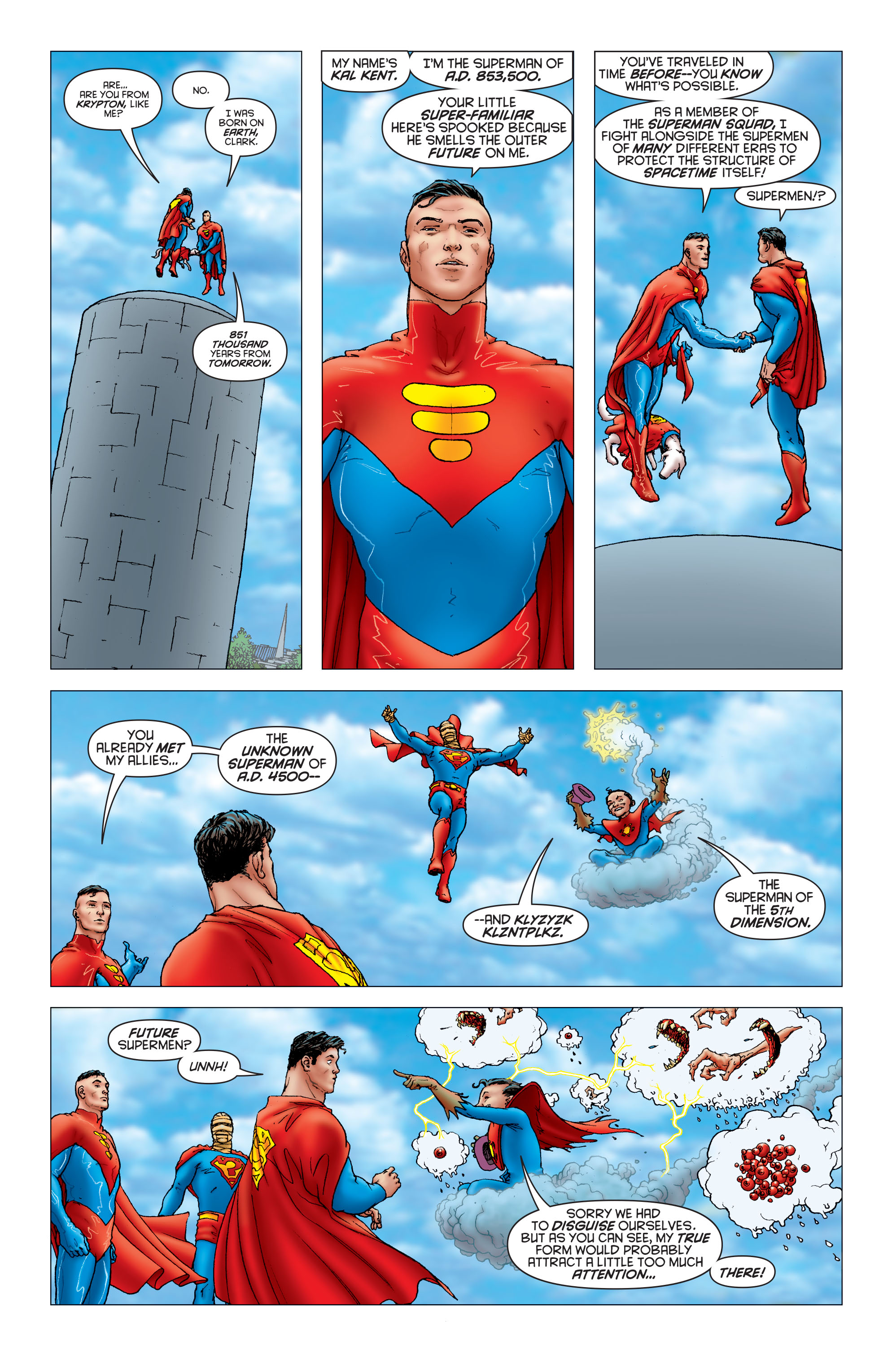 Read online All Star Superman comic -  Issue #6 - 12