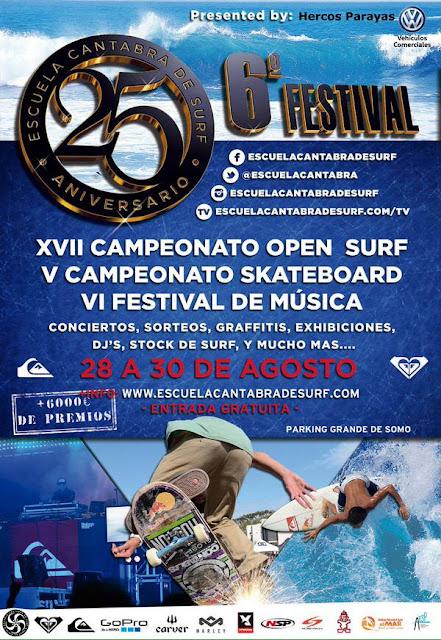 VI Festival de la Escuela Cántabra de Surf