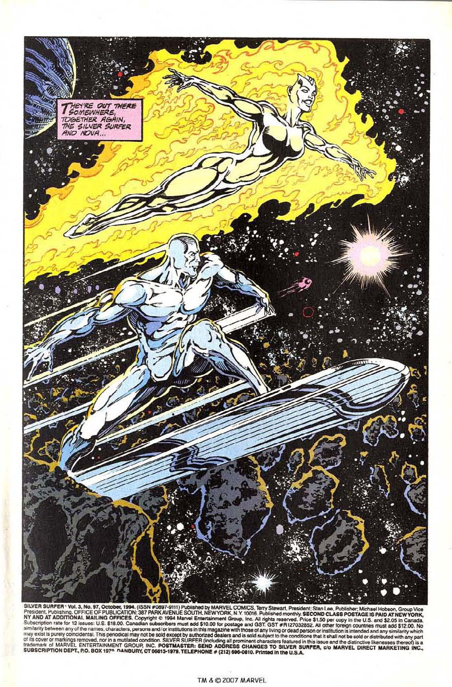 Read online Silver Surfer (1987) comic -  Issue #97 - 3