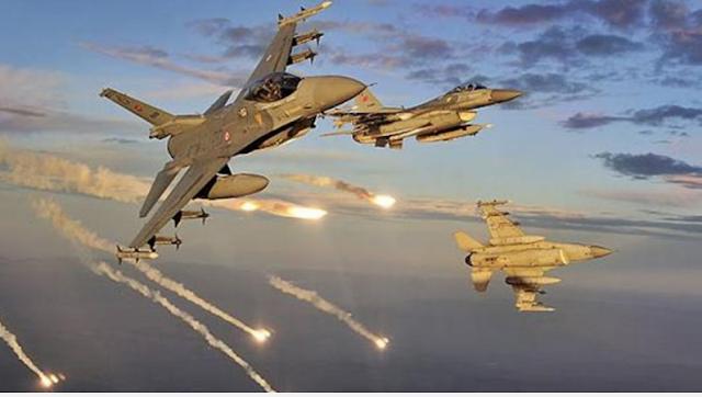 Suriye'de hava saldırıları ile yaklaşık 150 Cihad öldürüldü