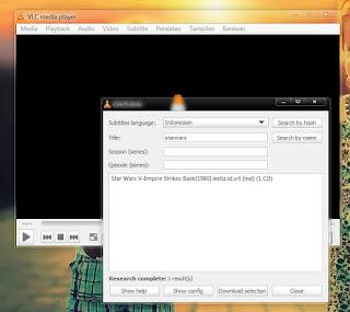 Cara Mudah Mencari Subtitle Film Melalui VLC Player