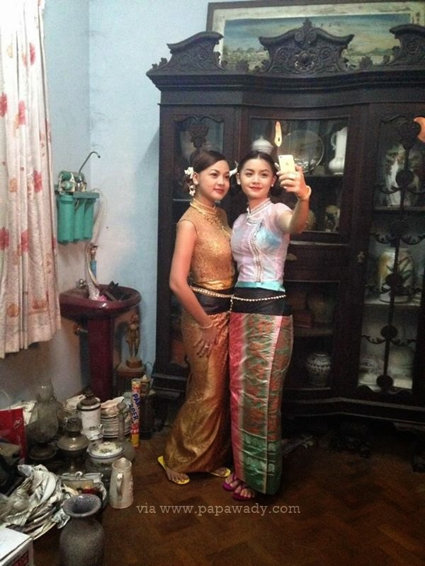 Miss Myanmars Nang Khin Zayar and Khin Wint Wah Photoshoot