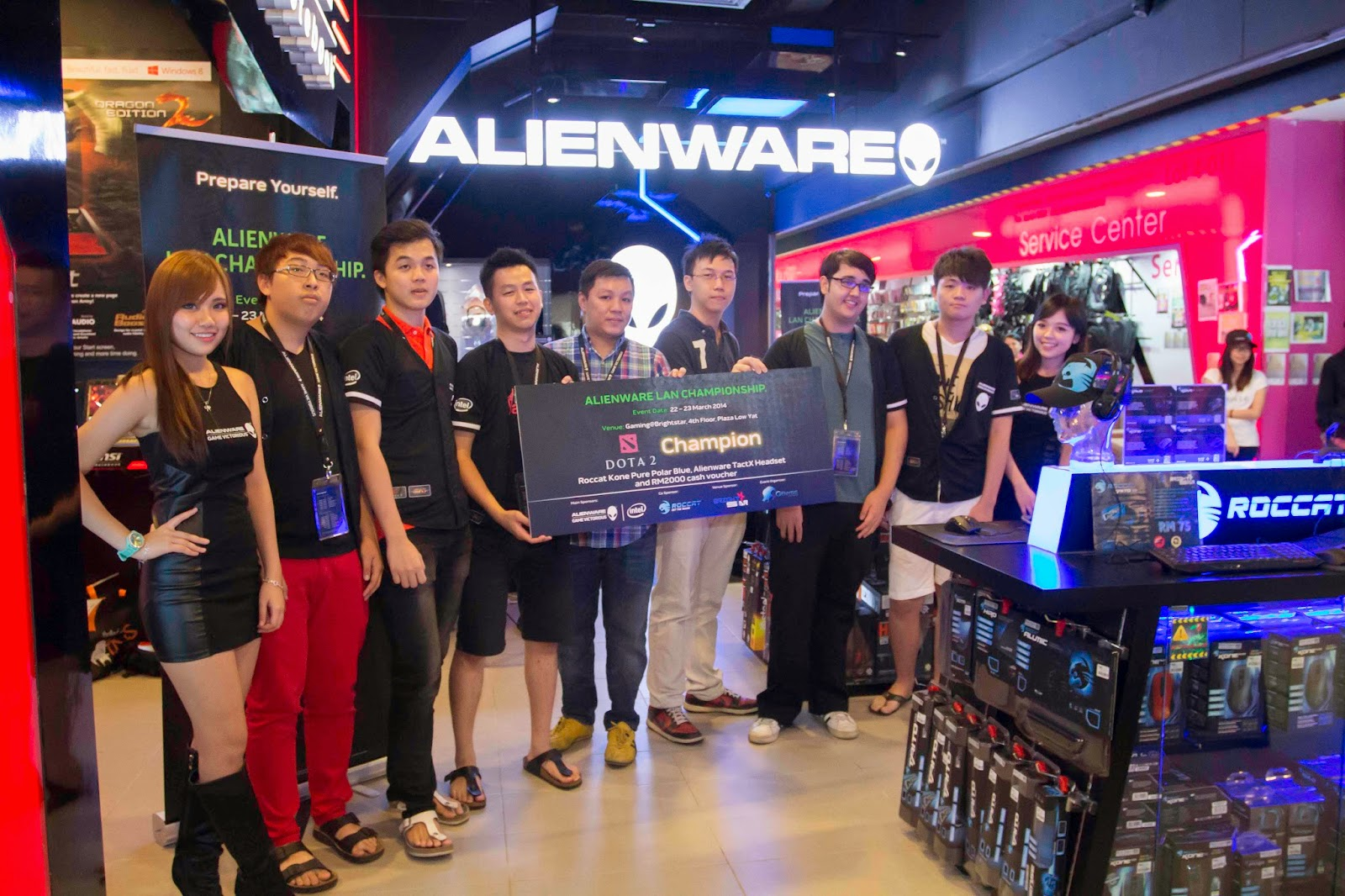 Malaysia's Leading Gamers Battle It Out at Alienware Tournament Alienware and Genysis Cyber E-sport Joined Forces for Alienware LAN Championship 15