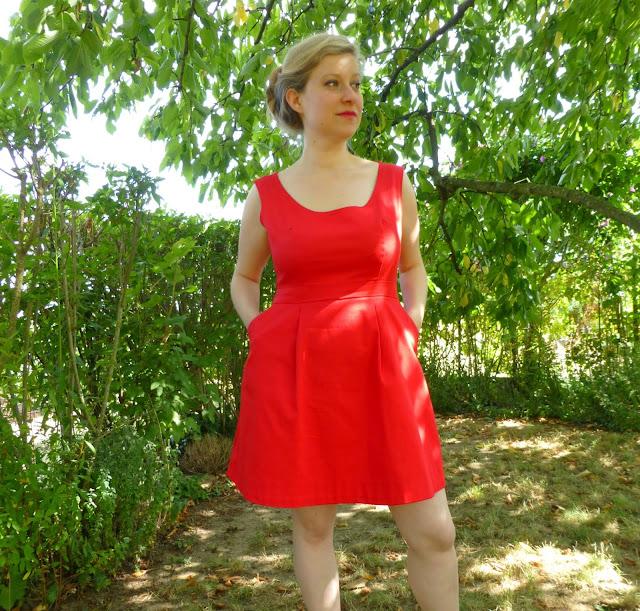 Ma première ''cousette'' : la robe Belladone Deer and Doe