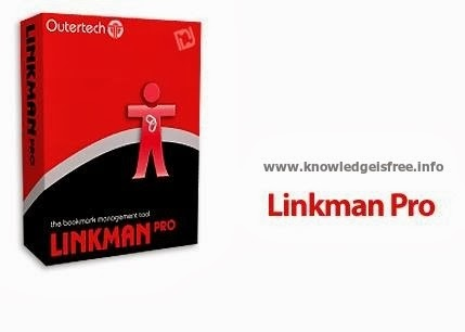 Portable bookmarks manager Linkman Pro 8 10 - Knowledge Is Free