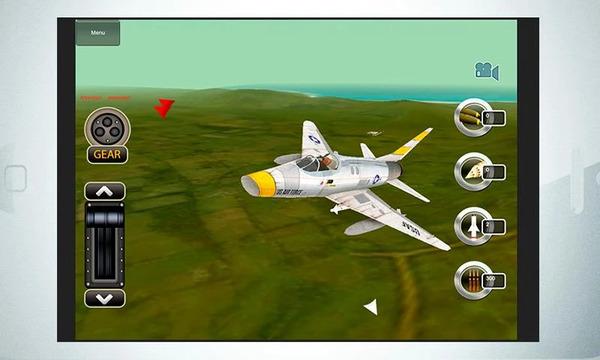 Simulador de voo de combate – Android e iOS