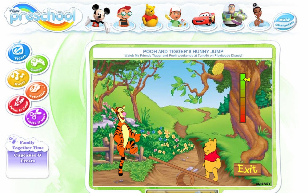 Free Preschool Disney Games For Kids And Toddler Education