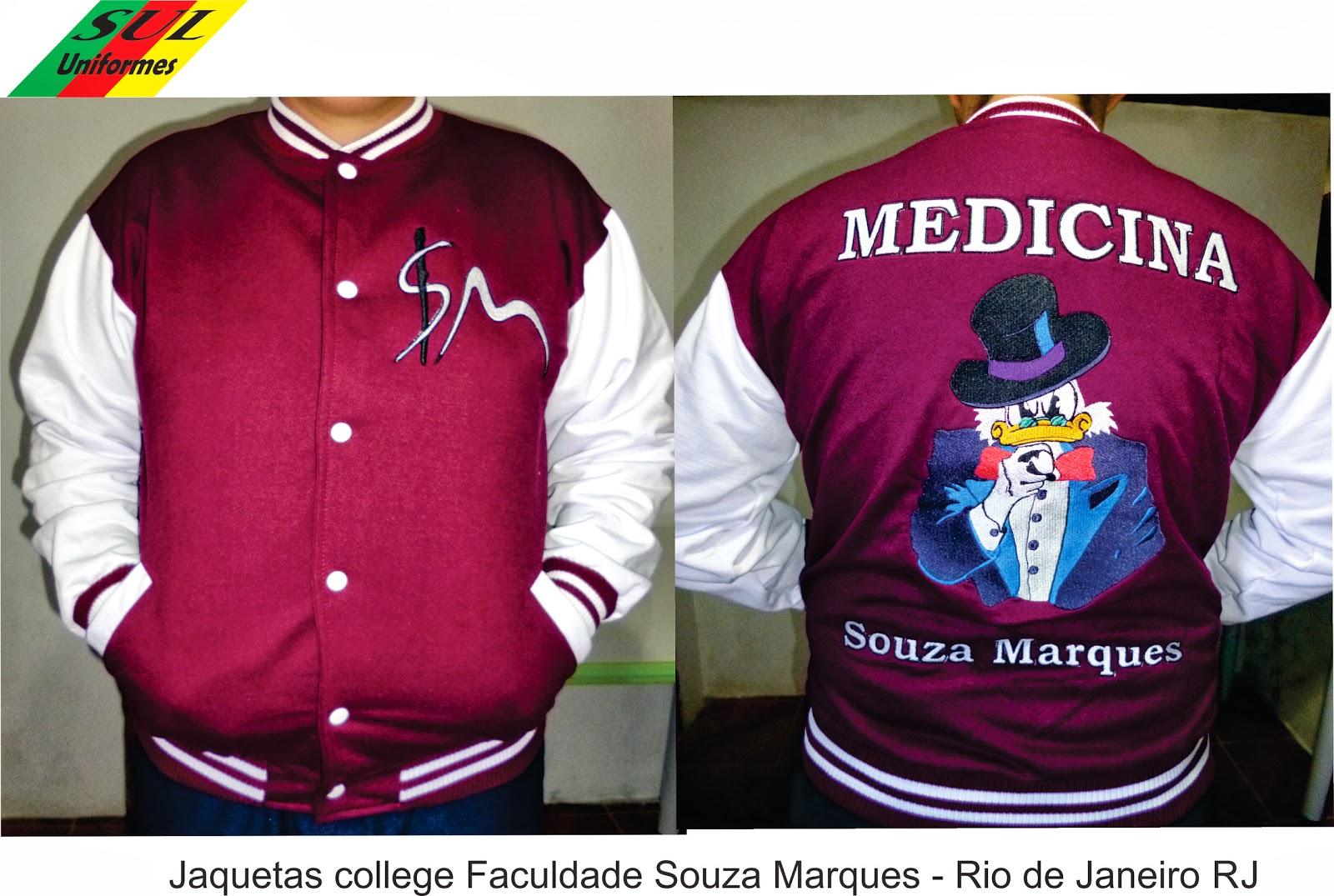 c925d1f0c2 Sul Uniformes  Jaqueta colegial Americana ( jaqueta varsity )