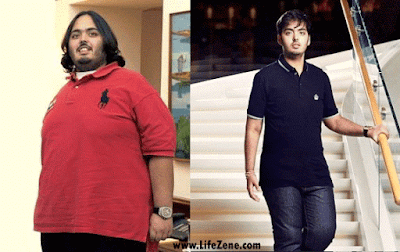 Anant Ambani Before & After Weight Loss Photos