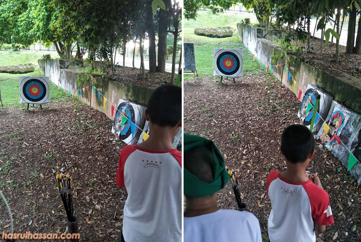 Belajar Cara Memanah Tradisional Laman Budaya di Kuala Kangsar