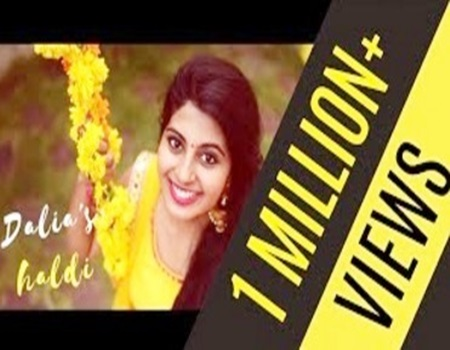 SINGLE SHOT Wedding Song Video – Dalia's Viral Haldi