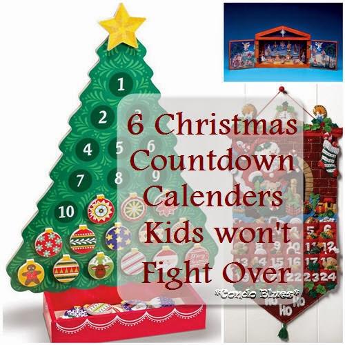 Condo Blues 6 Reusable Christmas Countdown Advent Calendars