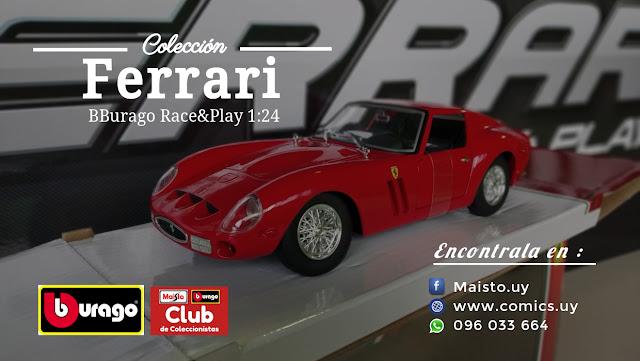 Colección Ferrari BBurago Race&Play1 24