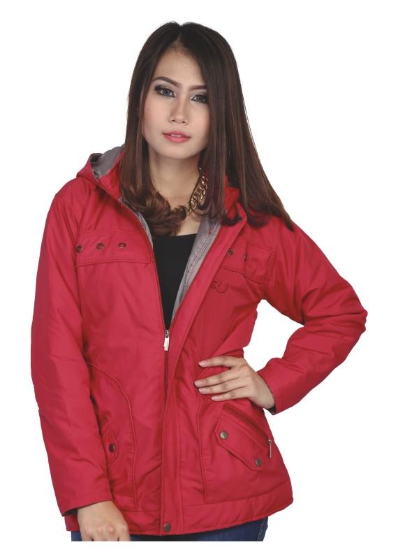 Jaket Wanita Warna Merah
