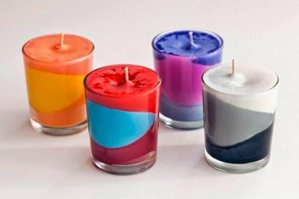 Cara Membuat Kerajinan Tangan Unik Lilin Warna 10