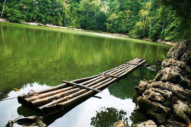 Natural scenery attracts visitors at Ba Be Lake 2