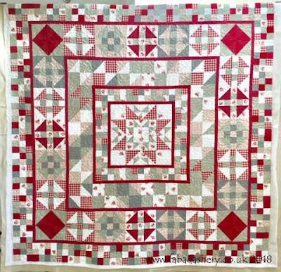 'Devon County' quilt made by Karen