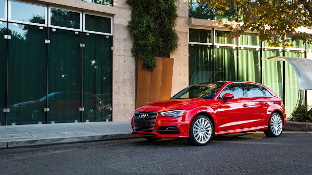 2016 NEw Audi A3 Sportback Edition Drive front side view