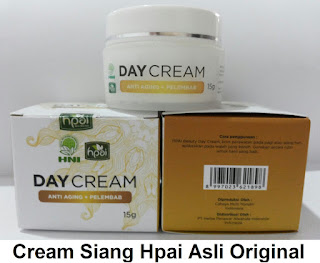 Manfaat day cream hpai Asli krim siang herbal alami tradional