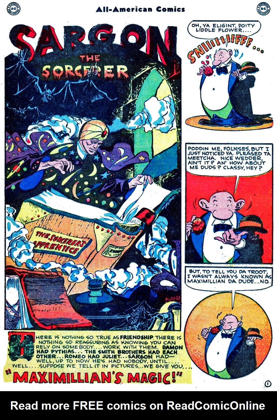Read online All-American Comics (1939) comic -  Issue #70 - 25