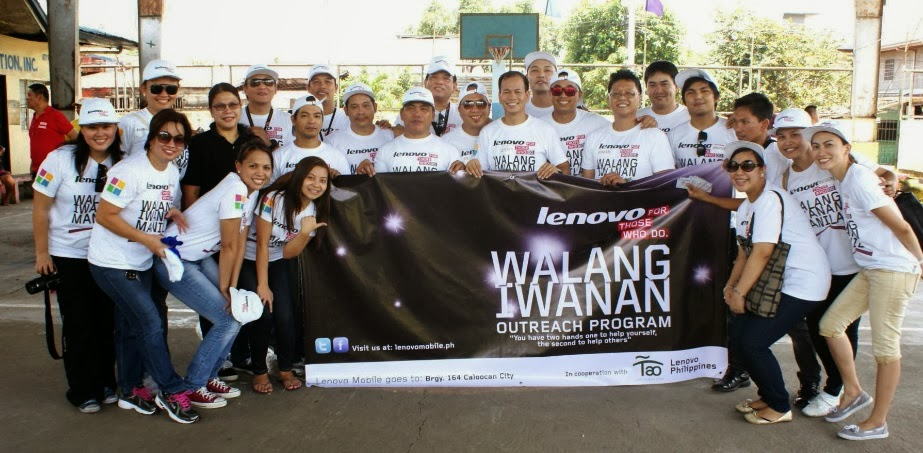 Lenovo marks #1 ranking by helping typhoon victims and Philippine Red Cross