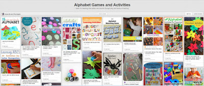 Alphabet games and activities pinterest board