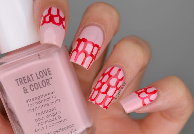 Clinique Marimekko Pop Splash Nail Art