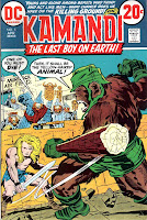 Kamandi v1 #5 dc 1970s bronze age comic book cover art by Jack Kirby