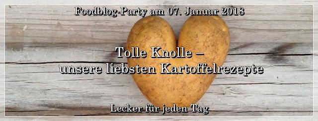 Foodblog-Party Tolle Knolle - unsere liebsten Kartoffelrezepte