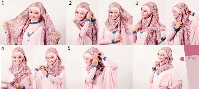 model cara berhijab style 2