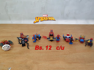 (Bs. 12) Spider-Man tipo LEGO