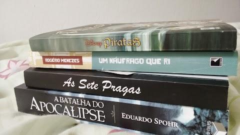 Livros que comprei na Bienal - 2014