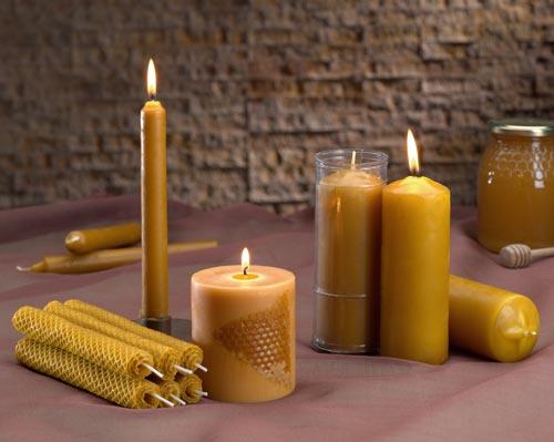 El templo de luz del alma propiedades de la vela de miel - Velas de miel ...